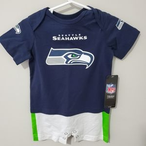 Toddler Seahawks one piece